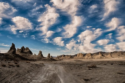 Trona Pinnacles In The Morning