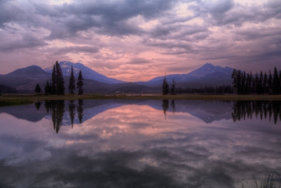 Sparks Lake Before Dawn