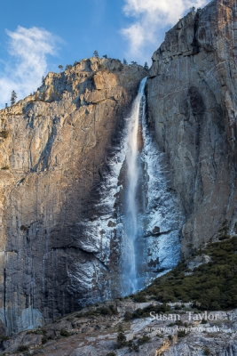 First Light On Yosemite Falls