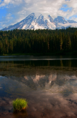 Mount Rainier Reflection.