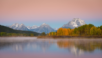 Sunrise Over Oxbow Bend