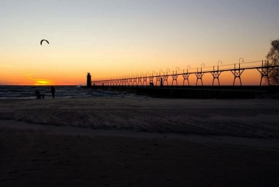 Sunset In South Haven