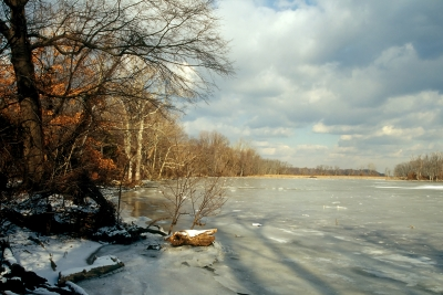 Potomac River Winter No. 004