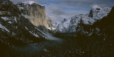 Yosemite After A Snow Storm