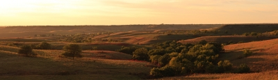 Evening On The Flint Hills