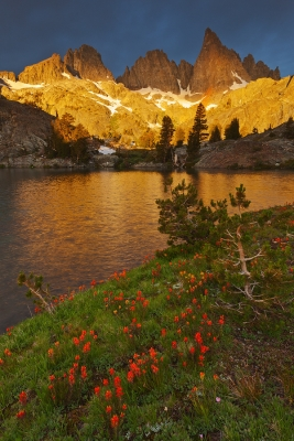 Minaret Lake Sunrise