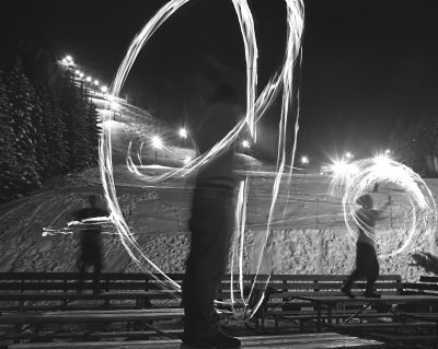 Fire Dancers On The Mountain