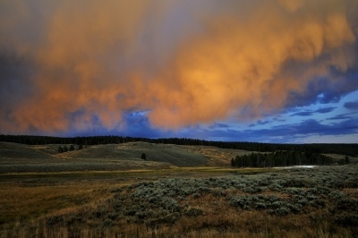 Afternoon Thunderstorm – Yellowstone