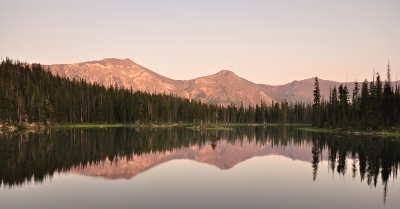 Dusk At Horseshoe Lake