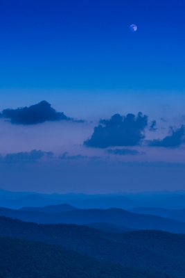 Blue Ridge Moon