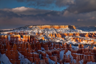 Last Light At Bryce Canyon