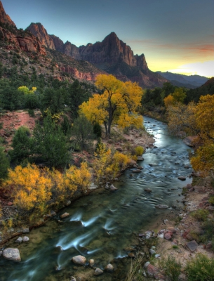 Virgin River Fall Evening