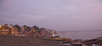 The Ghats At Sunrise