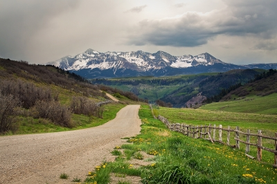 Colorado Country Road