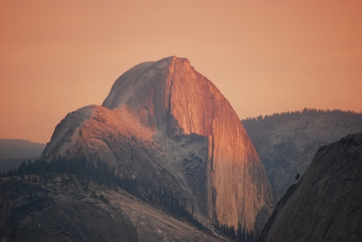 Glow Of Half Dome