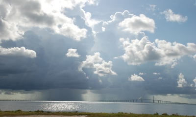 Storm Behind The Skyway