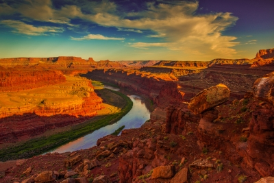 Colorado River At Canyonlands