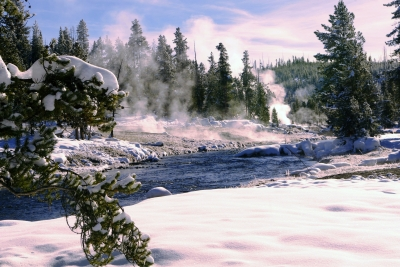 Firehole River – Yellowstone National Park