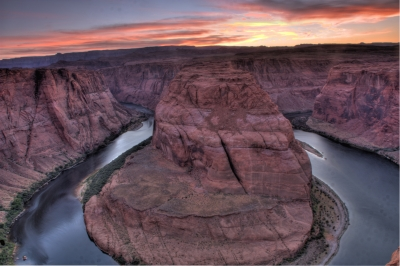 Horseshoe Bend-twilight