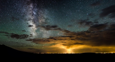 Milky Way Over The Storm – Great Sand Dunes National Park, Colorado