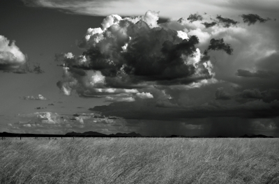 Storm Over The Playas, Southern New Mexico