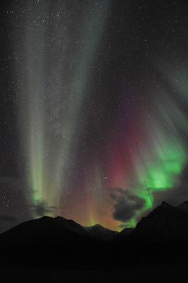 Northern Lights Blast Over The Brooks Range