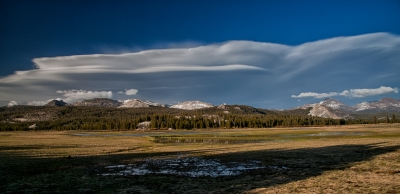 Lenticular Over Tuolumne Meadows