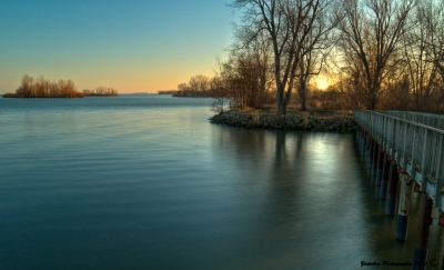 Evening On Lake Erie