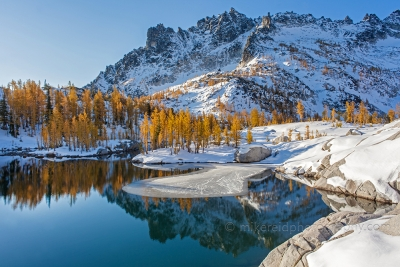 Enchantments Snow Ice And Larches
