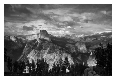 Half Dome And Yosemite High Country