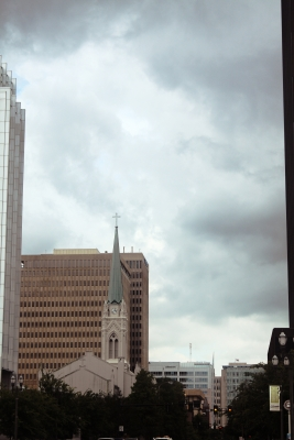 Sky Over Downtown Baton Rouge