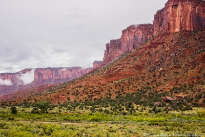 Red Canyon Walls