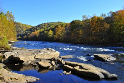 Yough River At Ohiopyle
