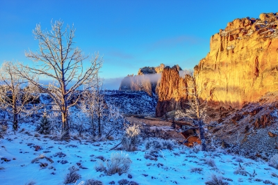 Magical Moment Smith Rock State Park