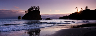 Second Beach Sunset (olympic National Park)