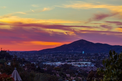 Socal Wildfires Around Cowles Mt