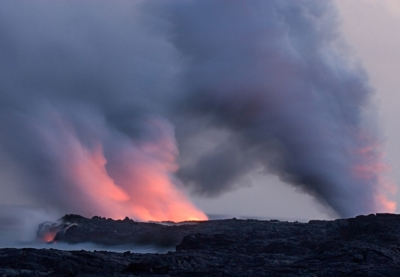 Hawaii Volcano National Park, Lava Flow