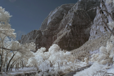 Zion Canyon, Infrared