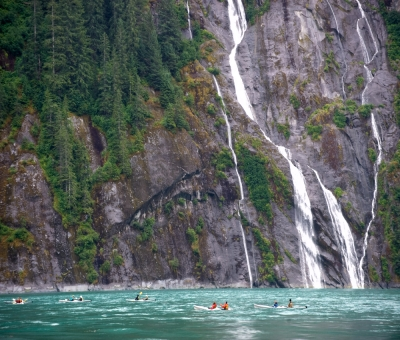 Kayakers- Inside Passage
