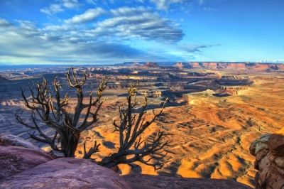Dancing Clouds Over Canyonlands National Park
