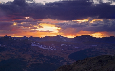 Trail Ridge Road Sunset
