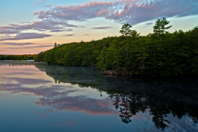 First Light On The Saco River