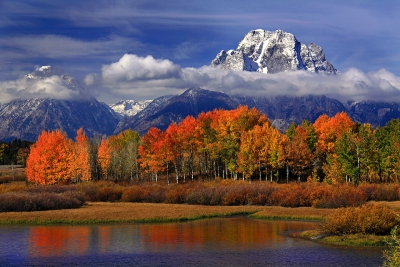 Mt. Moran With Fall Color