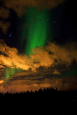 Northern Lights Over Yellowknife