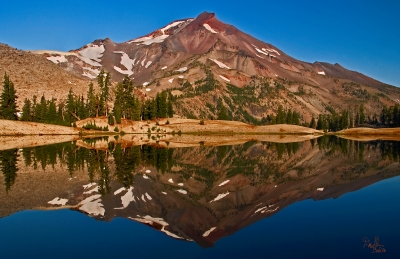 South Sister Reflected