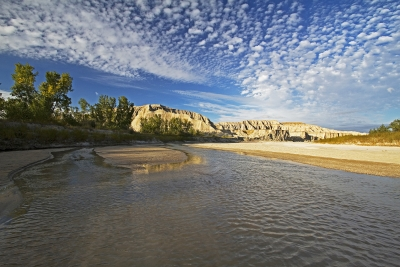 River Through The Badlands