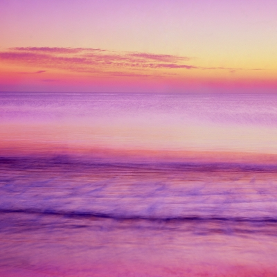 Dawn Light And Surf