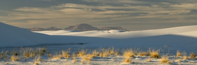 Late Afternoon, White Sands