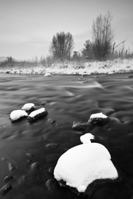 Snow Pillows On The Middle Provo River