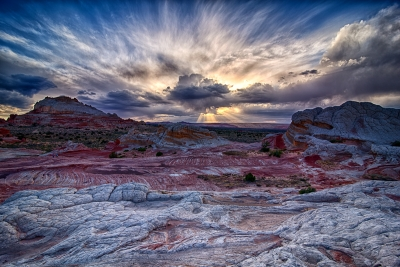 God Rays- White Pocket Arizona/utah Border.